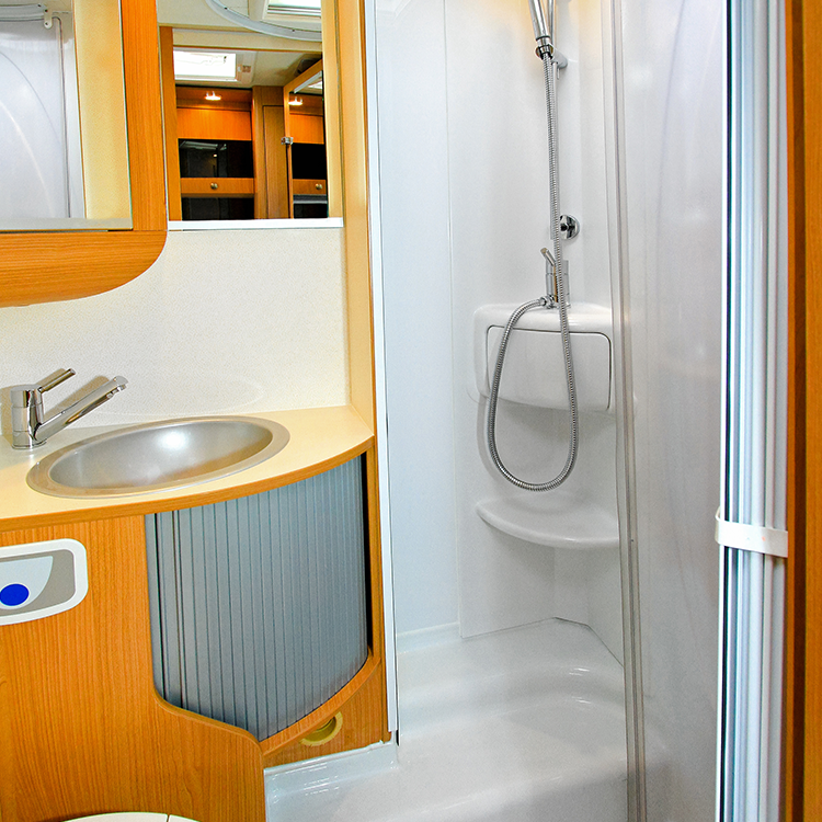 RV Shower Homepage Image